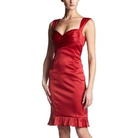 Jessica Simpson Satin Party Dress